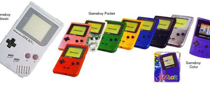 Nintendo Gameboy, Gameboy Color, & Gameboy Advance
